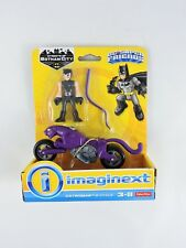 IMAGINEXT Catwoman & Cycle purple Streets of Gotham DC Super Friends NEW motor