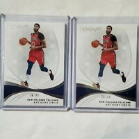 2x Lot 2018-19 Panini Immaculate Collection /99 Anthony Davis #4