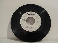 45 RECORD DOBIE GRAY- THAT'S ONE TO GROW ON