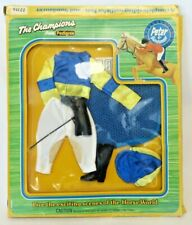 """Vtg 70's Pedigree 10.5"""" Doll Anna Moore """"JOCKEY"""" Outfit for PETER #22316 MIB"""