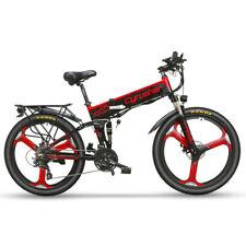 Cyrusher Electric Bike XF770 500W 48V 10AH Folding Bike Mountain Bike 26'' Bike
