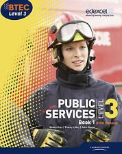 BTEC Level 3 National Public Services Student Book 1: Bk. 1 (Level 3 BTEC Natio