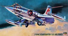 Hasegawa Model Kit 1/48 U.S. Air Force Fighter F-104C Starfighter - #07219 USED