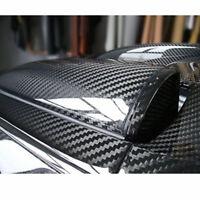 1x Sticker de carro Fibra de carbono 6D Pegatinas de equipaje Patineta Vinilo ES