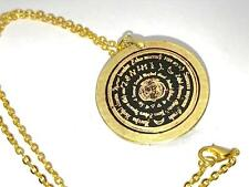 PICATRIX TALISMAN OF THE 7 WINDS SOLID BRASS Occult Magick Magic Grimoire Black