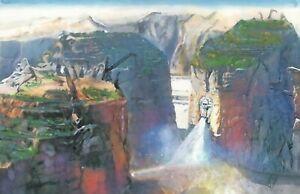 Original Mad Max Fury Road The Citadel Fantasy Landscape Painting Art