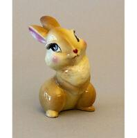 Vintage Disney BLOSSOM the rabbit, THUMPER'S girlfriend, ceramic, BAMBI 1940s