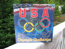 USA Olympic Challenge Trivia Board Game~New & Factory Sealed!