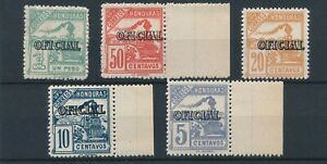 [84015] Honduras 1989 good set of official stamps very fine MNH