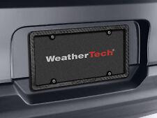 WeatherTech Carbon Fiber License Plate Frame - 100% Real Carbon Fiber - 1-Pack