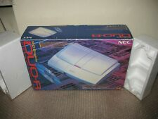 (BOX ONLY) EMPTY BOX+POLYSTYRENE FOR PC ENGINE DUO R CONSOLE (BOX ONLY)