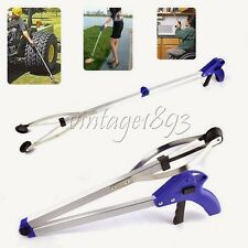 Foldable Health Sanitation Tong Pick Up Grabber Reaching Claw Tool Gripper Plier