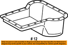 FORD OEM 03-10 F-350 Super Duty-Engine Oil Pan 3C3Z6675AA