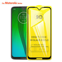 9D Full Tempered Glass For Motorola Moto G7 Power G6 E5 Plus P30 Play Go Shield