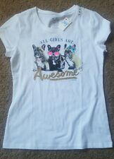 Girl's Justice glitter French bulldog Sz 16 NWT (LAST ONE)