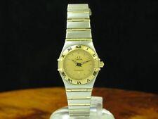 Omega Constellation 18kt 750 Gold/Stainless Steel Ladies Watch / Ref 795.1203