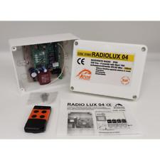 Kros Radiolux 04 Receiver Radio 4 Channels Self Study 433,92 Mhz Ip65