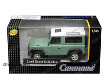 Voitures, camions et fourgons miniatures oranges Defender Land Rover