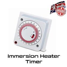 Immersion Heater Timer - Flush Socket Box - 24 Hour 16 Amp - *UK Seller*