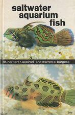 SALTWATER AQUARIUM FISH Herbert Axelrod &  Warren Burgess 400 Page **GOOD COPY**
