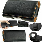Universal Belt Clip Hip loop Pouch for Apple iPhone models Case/Cover PULeather