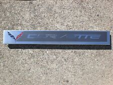 CHEVROLET CORVETTE STINGRAY SILL PLATE PROTECTOR FACTORY 22789326 USED