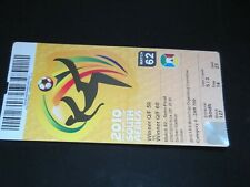 2010 SOUTH AFRICA WORLD CUP SEMI-FINAL GERMANT v SPAIN  TICKET STUB