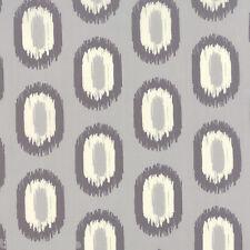 MODA SERENITY Grey Geometric Ikat Feather Grey Quilt Fabric Fat Quarter