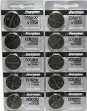 Lot of 10 Energizer ECR2032 Genuine Fresh Date CR2032 2032 Lithium 3V Batteries