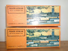 SILVER STREAK HO SCALE TWO AUTO BOX KITS-#350 UNDECORATED & # 302 D&RGW