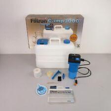 Fichtel & Sachs Filtron Camp 3000 Wasseraufbereitung Wasserwerk Camping Boot