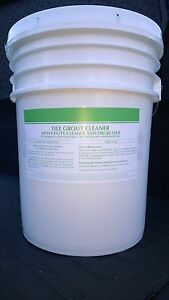 TILE GROUT CLEANER 5 GALLON PAIL CONCENTRATE DEGREASER  PATRIOT CHEMICAL SALES