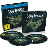SOILWORK - LIVE IN THE HEART OF HELSINKI  BLU-RAY DIGIPACK + 2 CD NEU