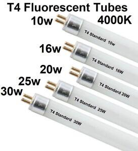 T4 fluorescent Tubes 10w-16w-20w 25w-30w under cabinet Flourescent Lamps 4000K