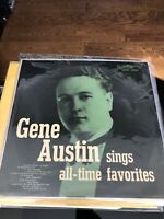 Mint- Gene Austin All Time Favorites RCA Records Stereo Jazz LP