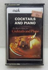 COCKTAILS AND PIANO--CASSETTE TAPE--FREE UK SHIPPING