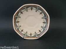 China Replacement Royal Doulton Claremont Demitasse Antique Saucer c1920s 11cm