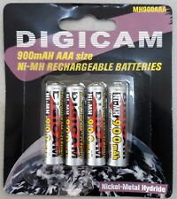 DigicamPilas Recargables AAA/HR03 NiMH 900mAh 1.2 V  - 4 unid.