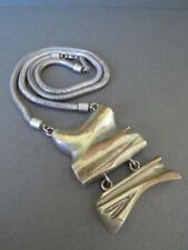 Maniamania Silver Metal Necklace Mania Mania Zimmermann