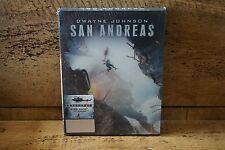 SAN ANDREAS HDZETA SILVER LABEL #9 LENTICULAR 3D+2D BLU-RAY STEELBOOK