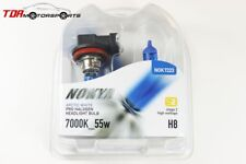 NOKYA Halogen Light Bulbs H8 Arctic White 7000K S2 55W