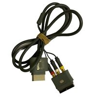 Genuine Official XBOX 360 Console Composite TV AV CABLE SCART X810973-001