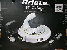 Ariete Briciola 2711 Saugroboter Roboter Staubsauger 2000mAH 14,4V 0,5L Weiß