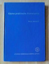 DDR Buch Kleine praktische Astronomie Hilfstabellen Beobachtung Objekte Bilder