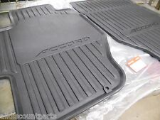 1998-2002 Honda Accord 4-Door Black Front All Season Floor Mats New OEM