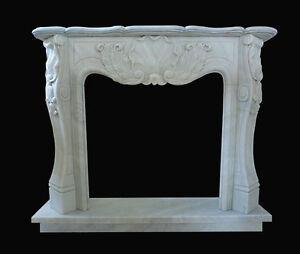 Frame Fireplace White Marble Carrara Marble Fireplace Frame Luigi