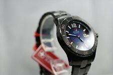 SWISS MILITARY HANOWA MARINE OFFICER CLASSIC Uhr blau Herrenmodell 6-5154  NEU