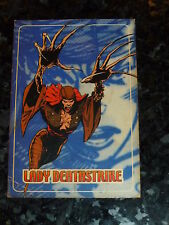 "LADY DEATHSTRIKE - Marvel ""trading Card"" - No 5 - Marvel Comics"