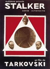 Stalker (1979) Andrei Tarkovski movie poster print