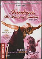 ISADORA / The Loves of Isadora (1968) DVD, NEW!! Vanessa Redgrave